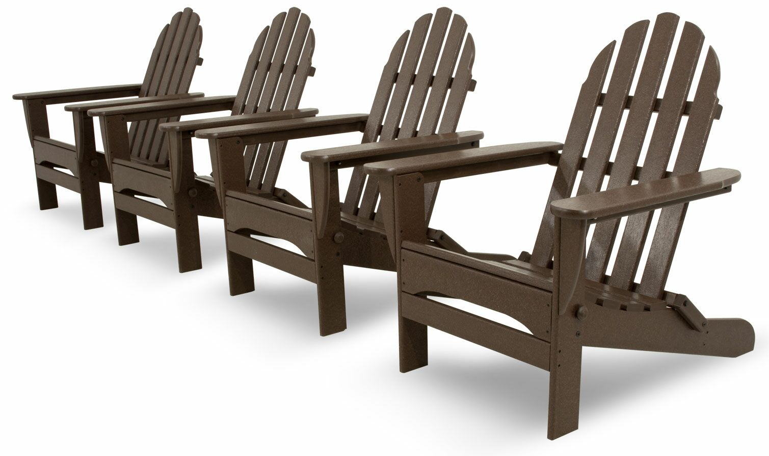 4 Piece Conversation Set Color: Mahogany