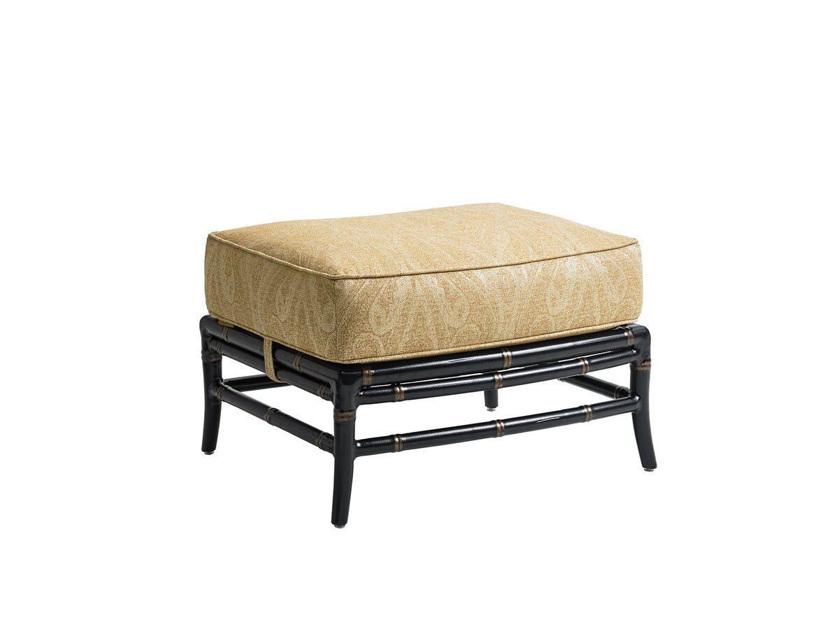 Marimba Outdoor Ottoman with Cushion