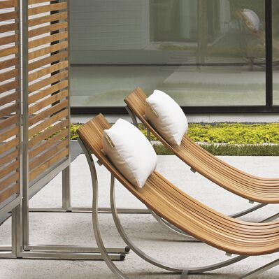 Tres Chic Indoor/Outdoor Chaise Lounge Cushion
