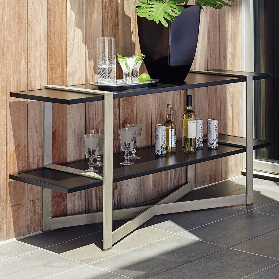 Del Mar Tiered Console Table