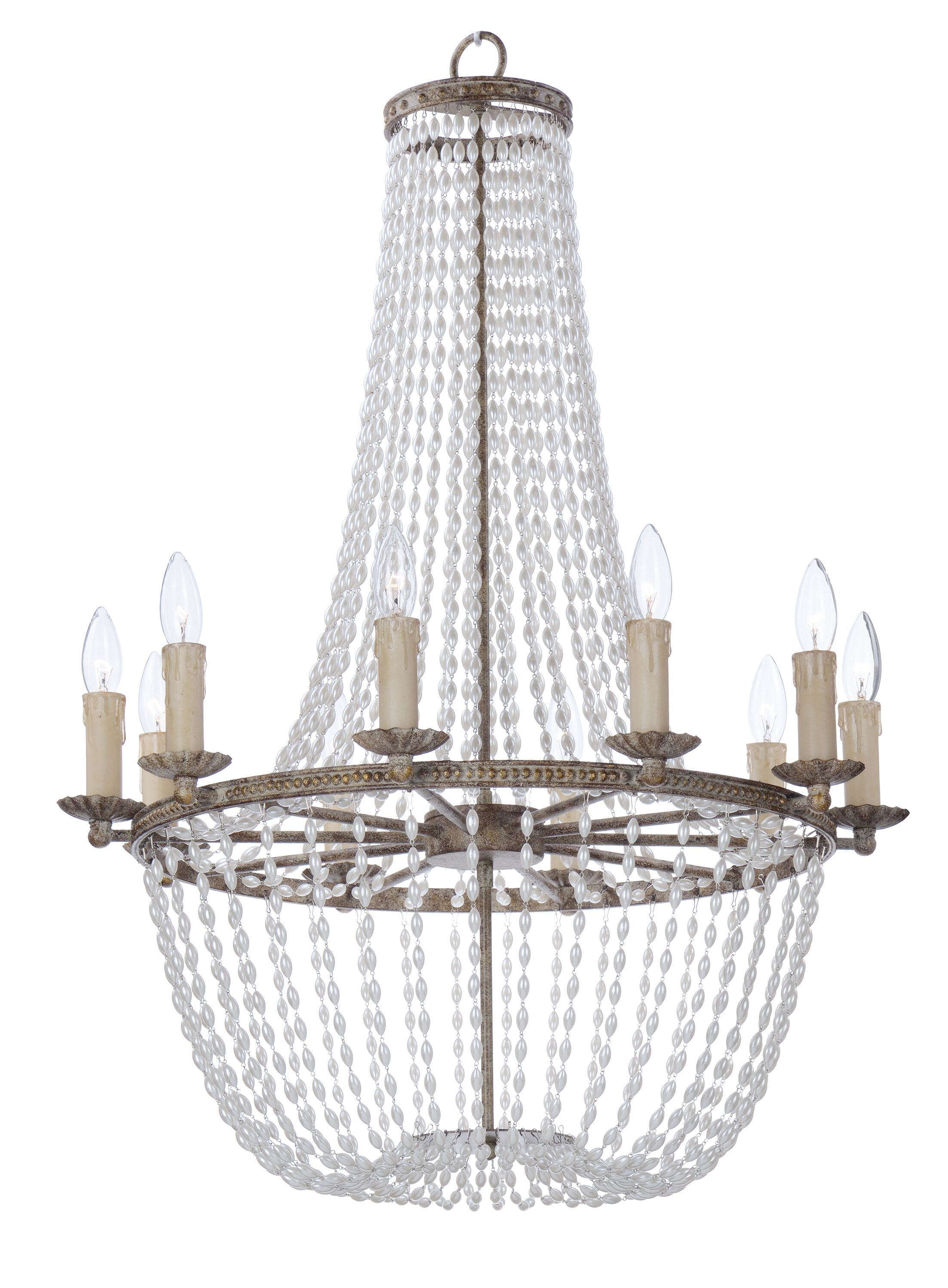 Georgiana 10-Light Empire Chandelier