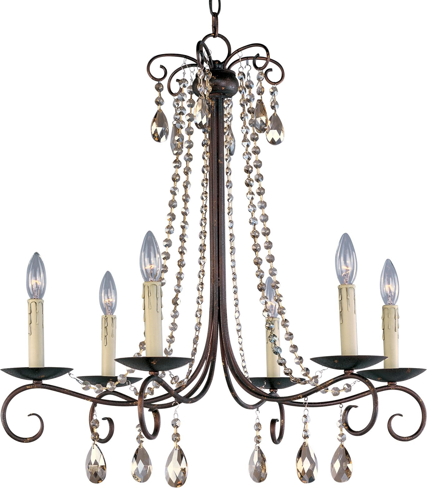 Pancras 6-Light Candle Style Chandelier