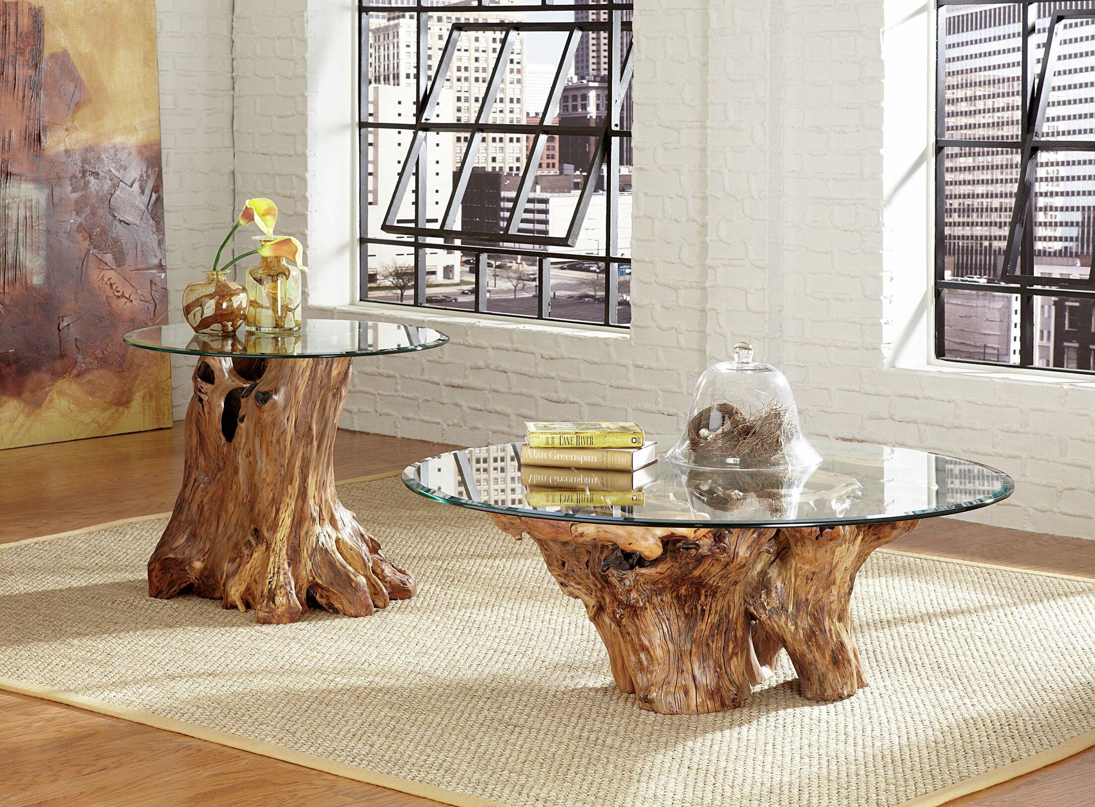 Winooski Root Ball Coffee Table Set