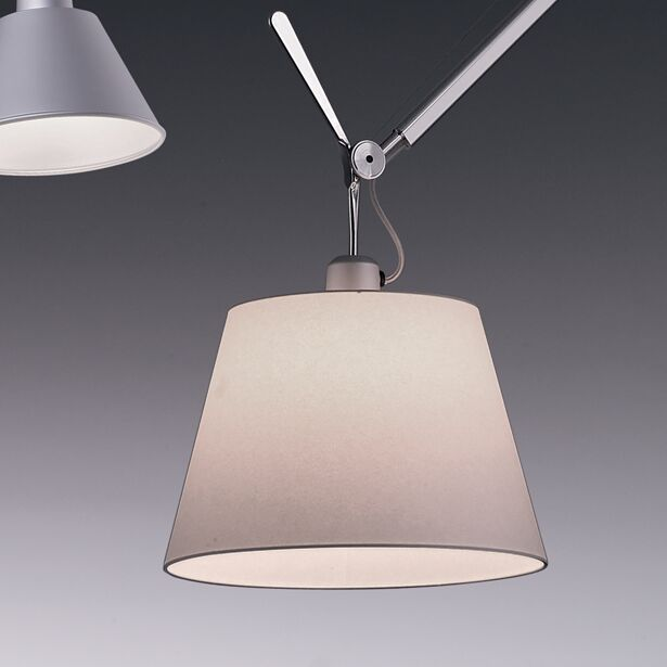 Tolomeo 1-Light Mini Pendant Bulb Type: 100W Incandescent, Shade Color: Fibre, Shade Size: 12