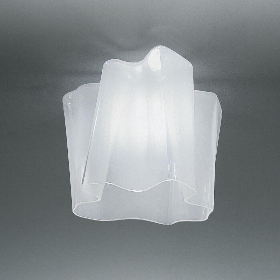 Logico 1-Light Semi Flush Mount Size: Mini, Bulb Type: Fluorescent 3x18W GU24 UNV