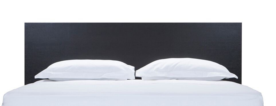 Simple Panel Headboard Size: Full, Color: Onyx