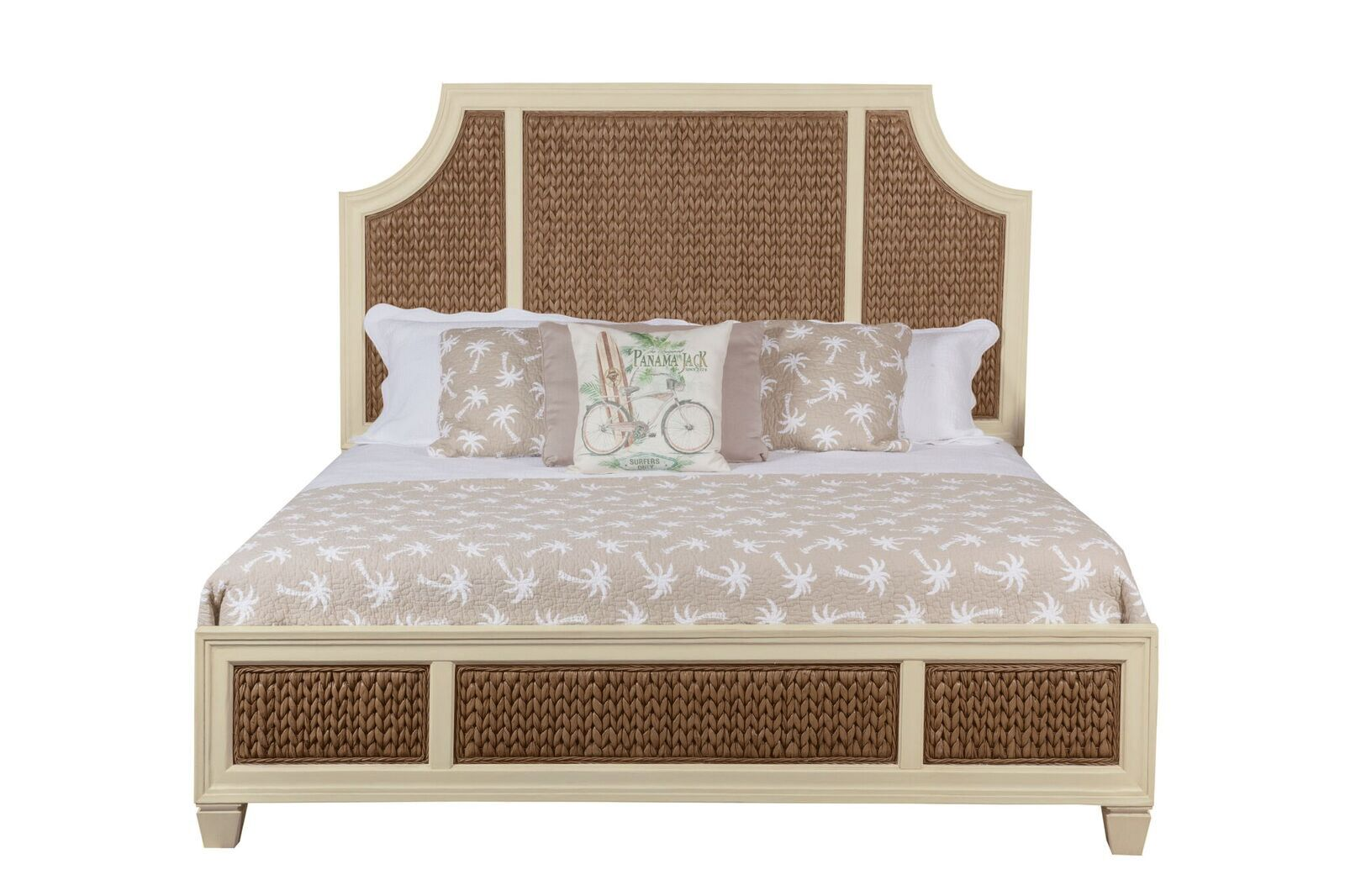 Bridge Hampton Panel Bed Size: King