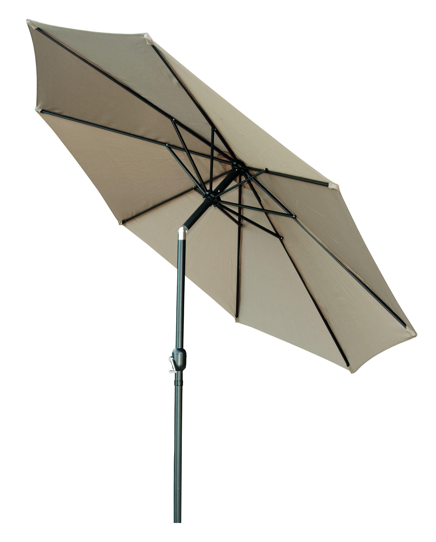 Piatt Tilt Crank Patio 10' Market Umbrella Color: Tan