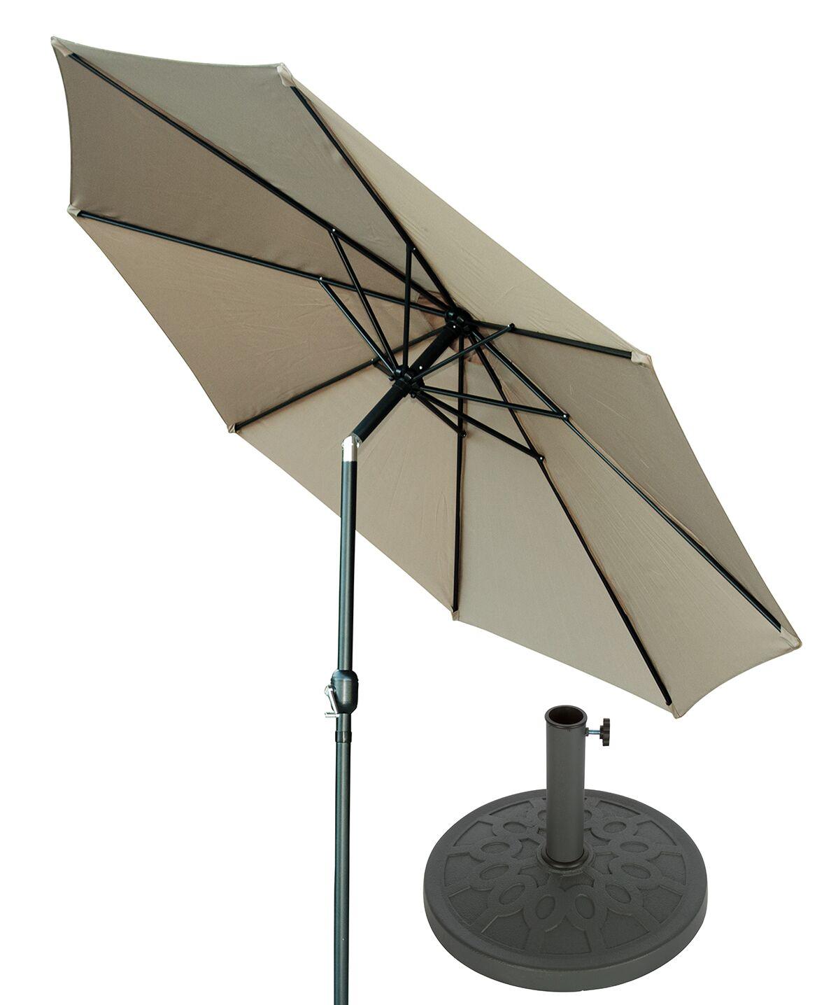 10' Market Umbrella Fabric: Tan