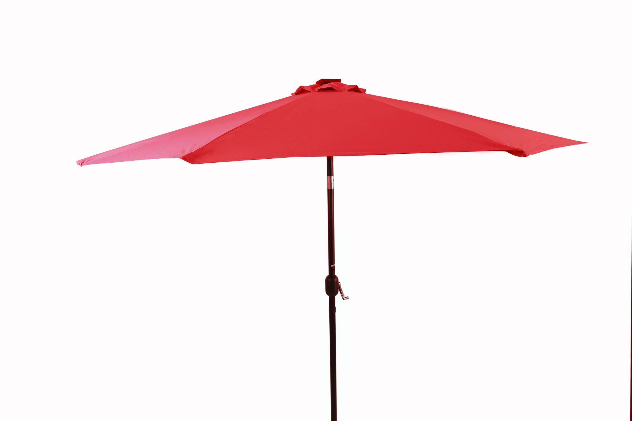 10' Lighted Umbrella Color: Red