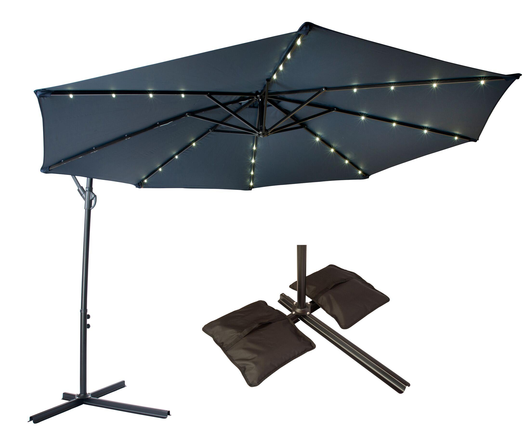 10' Cantilever Umbrella Color: Blue