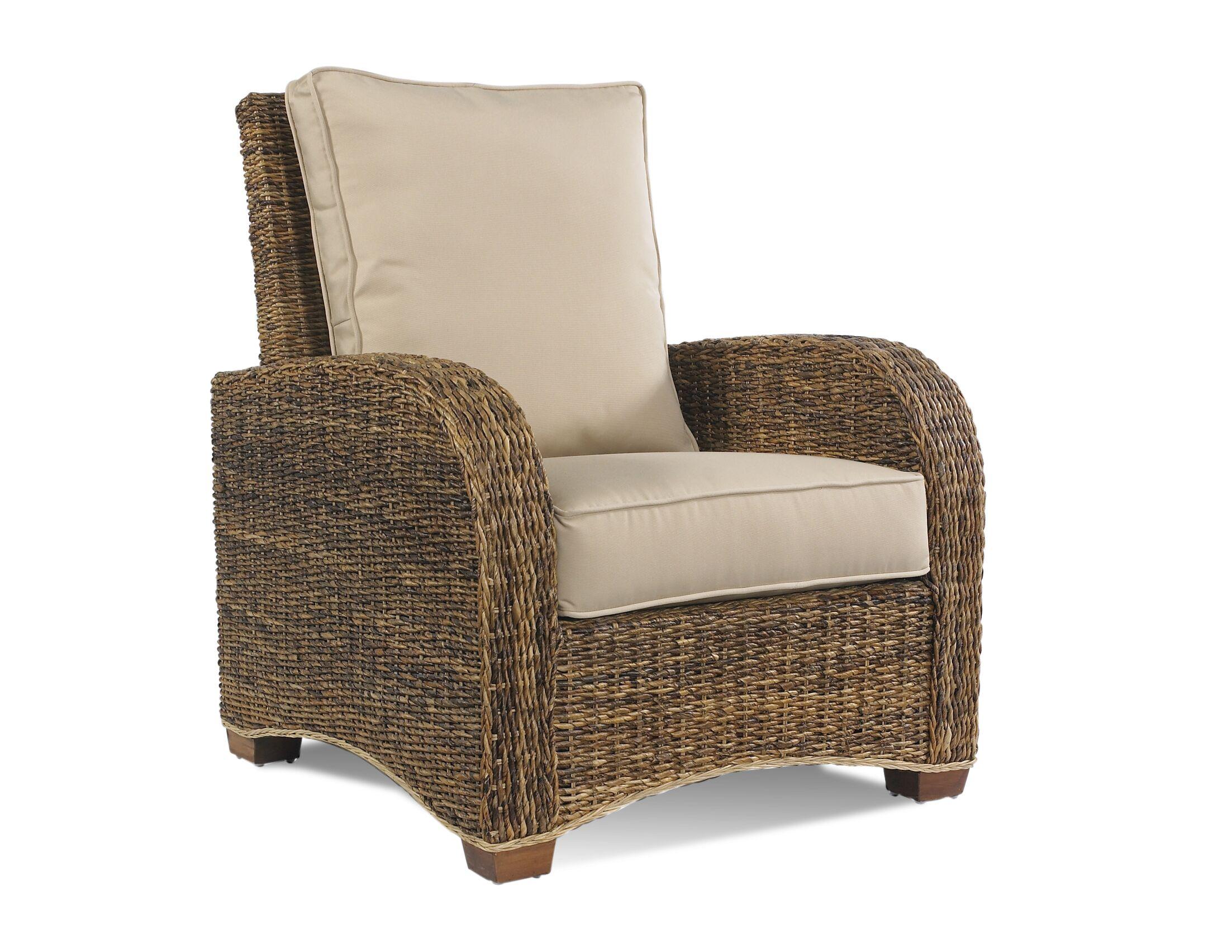 St. Kitts Armchair Upholstery: Walnut