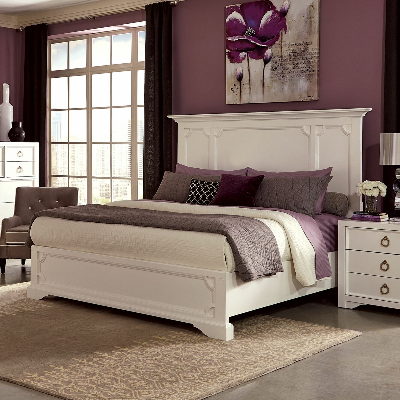 Furiani Panel Bed Size: California King