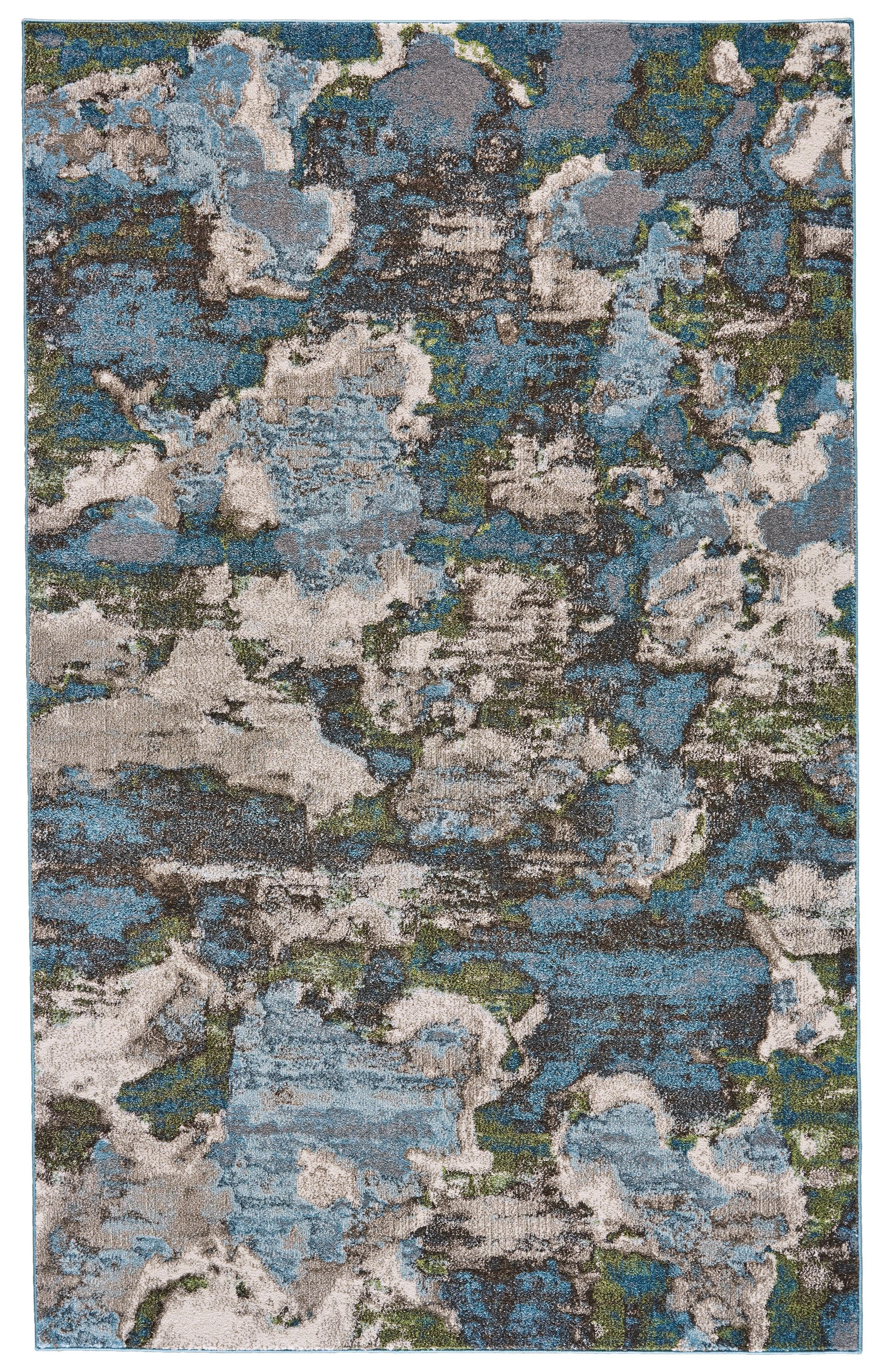 Elkhart Turquoise Area Rug Rug Size: Rectangle 5' x 8'