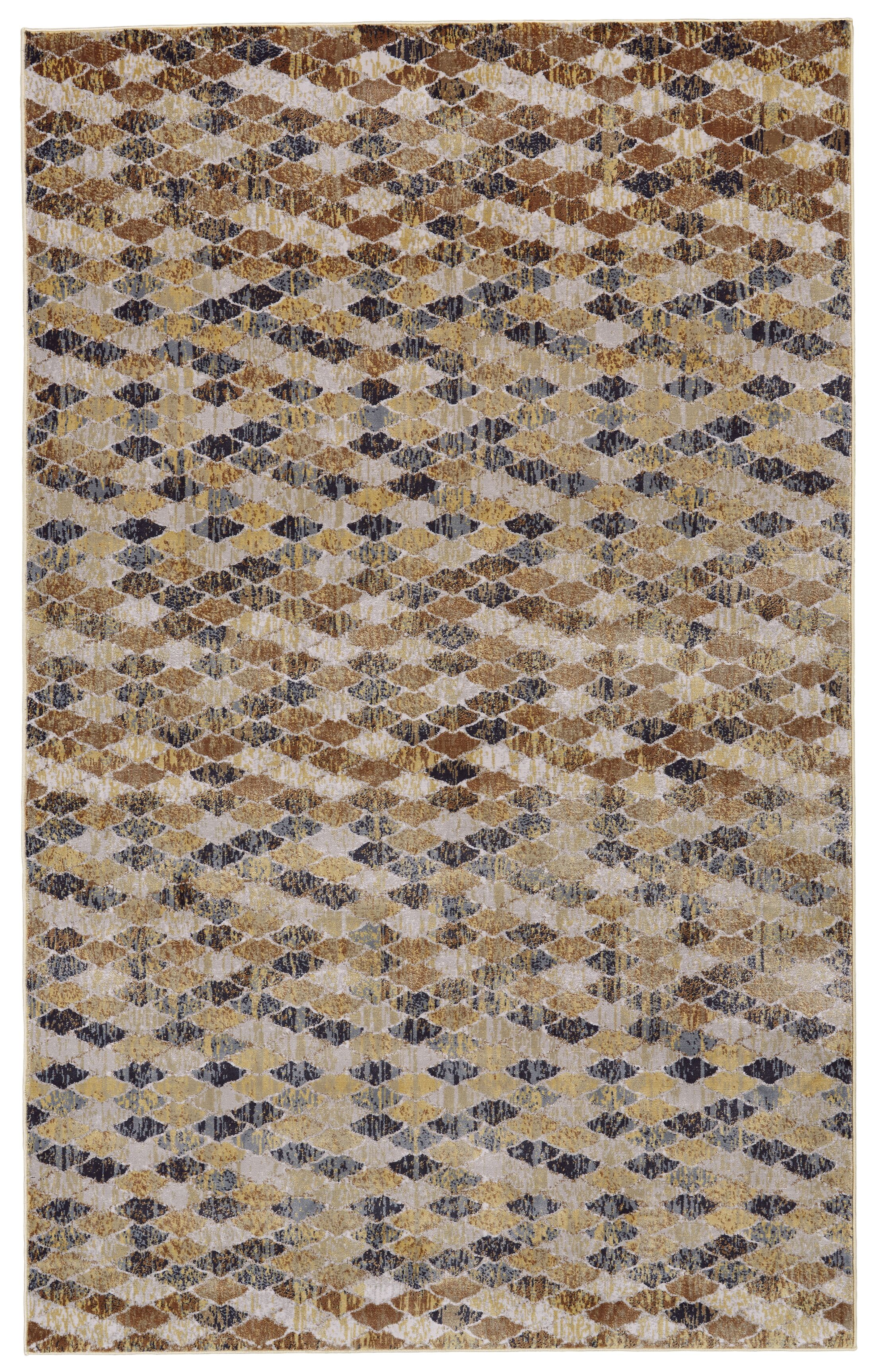Rogers Castle/Taupe Area Rug Rug Size: Rectangle 10' X 13'2