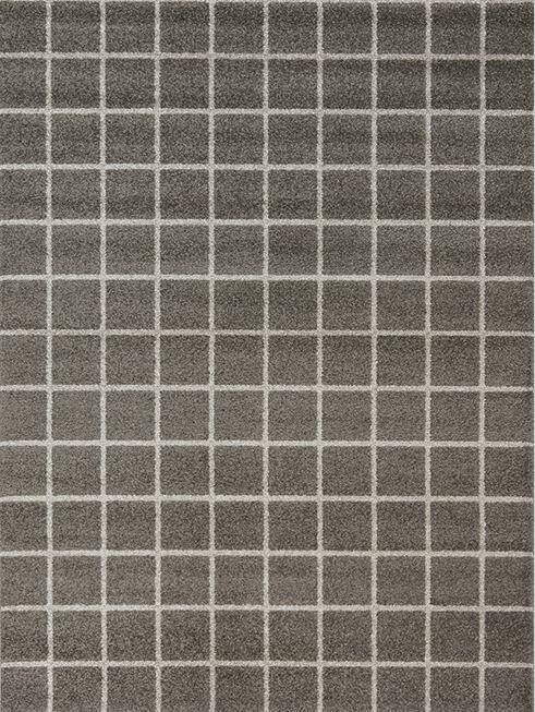 Lewisboro Tile Brown/Gray Area Rug Rug Size: 7'10