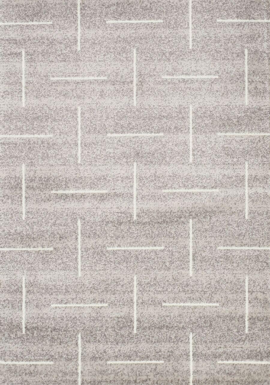 Vedder Sliced Lines Gray Area Rug Rug Size: Rectangle 7'10