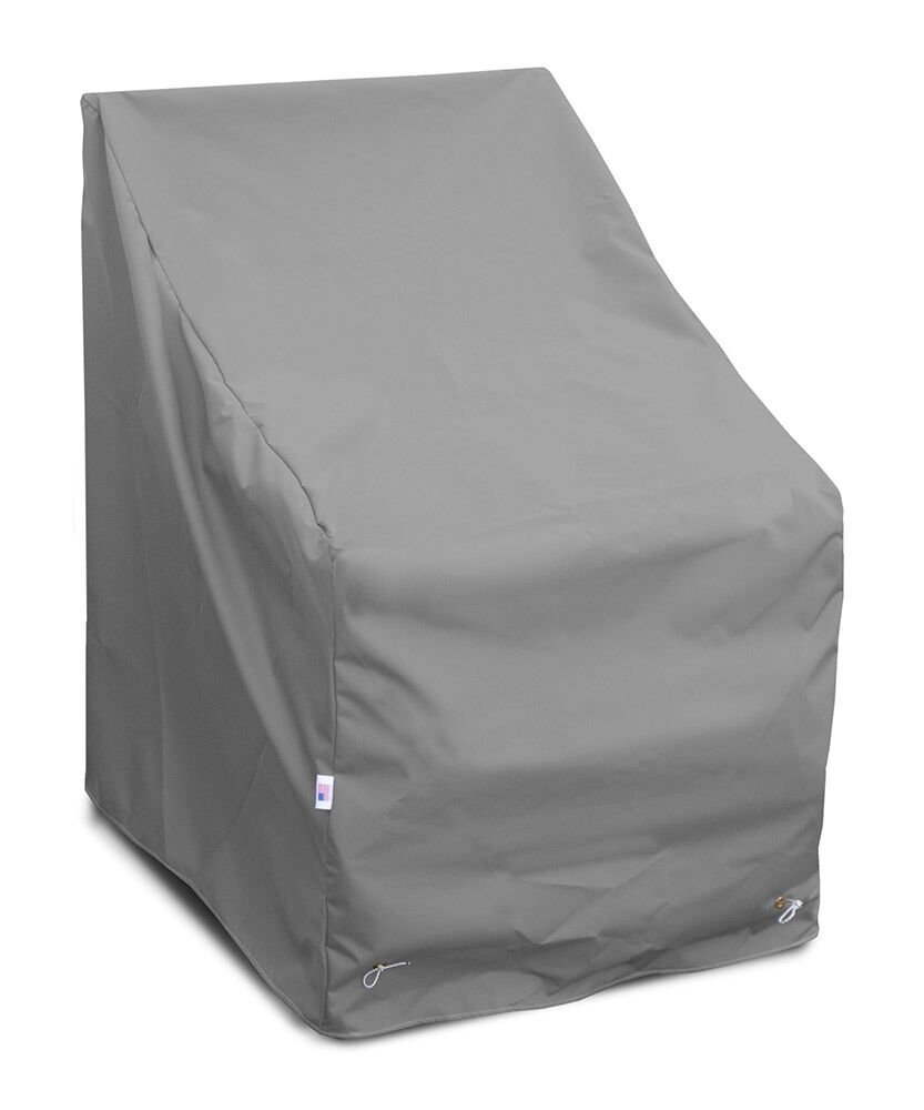 Weathermax� High Back Chair Cover Color: Grey, Size: 39