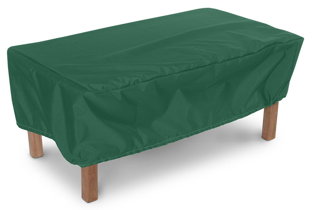 Weathermax� Rectangular Ottoman/Small Table Cover Size: 20
