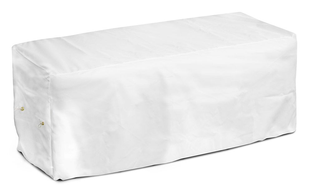 Weathermax� Garden Seat Cover Color: White, Size: 18