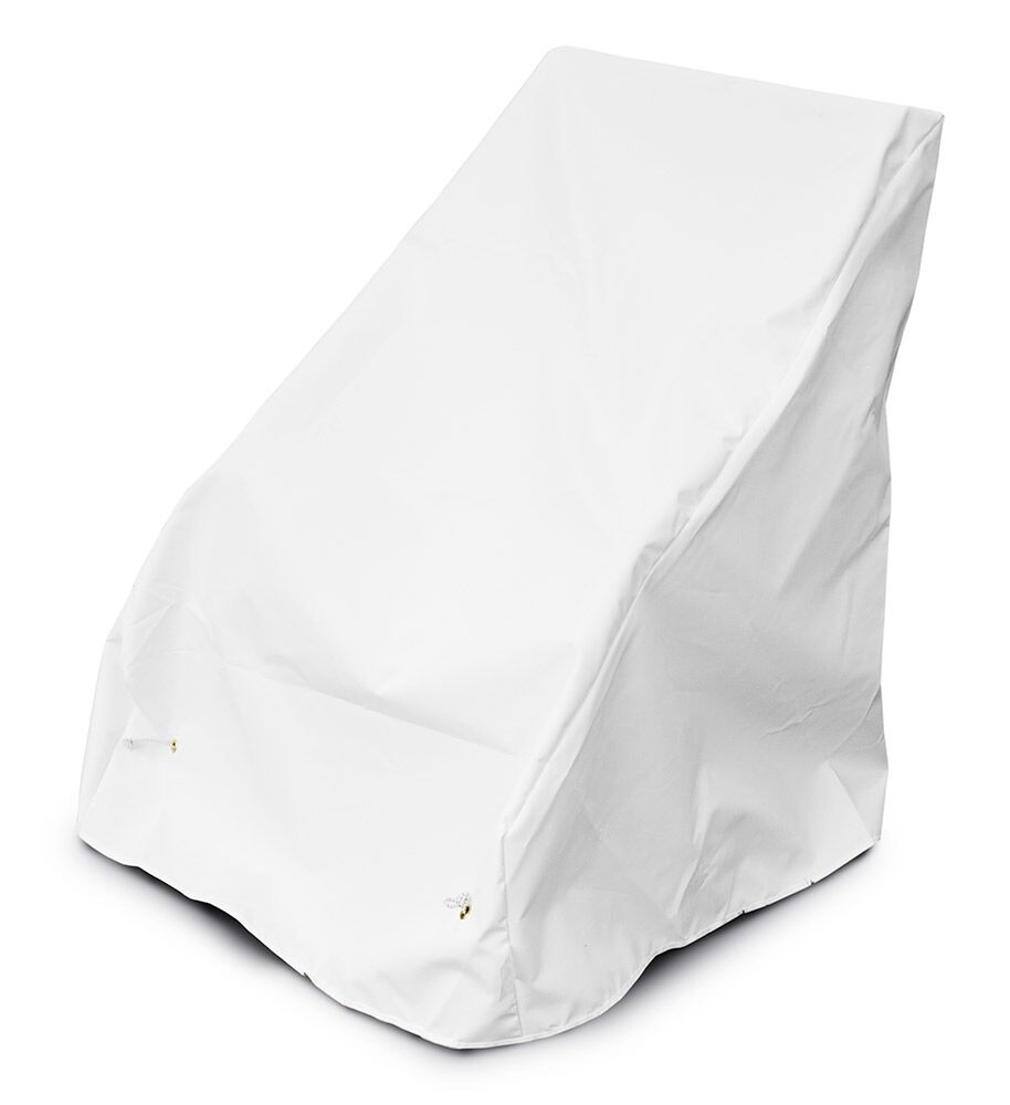 Weathermax� Armless Seating Cover Color: White