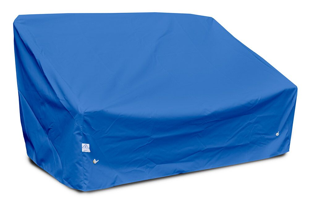 Weathermax� Deep 2-Seat Sofa Cover Color: Pacific Blue, Size: 31