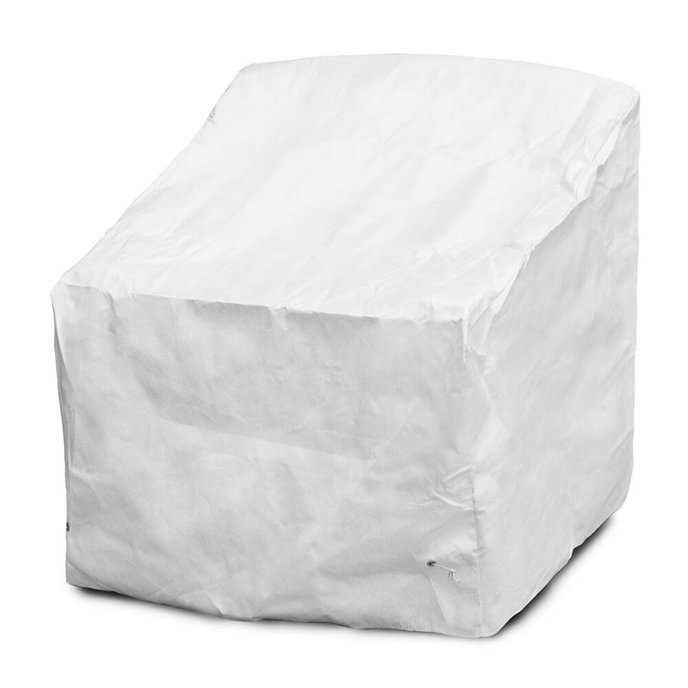 DuPont™ Tyvek® Deep Seating Dining Chair Cover Size: 31