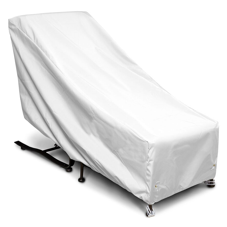 Weathermax� Chair and Ottoman Cover Color: White