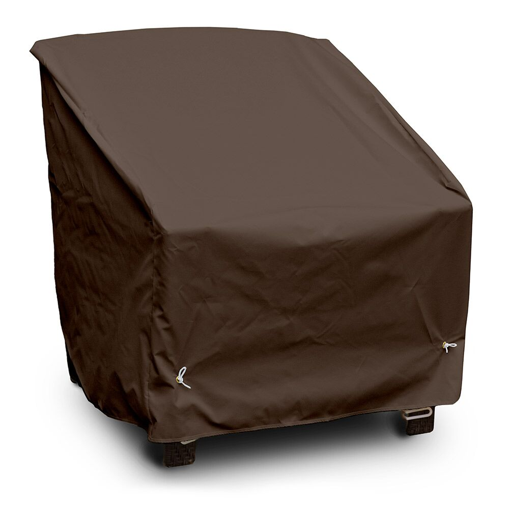 Weathermax™ Deep Seating High-Back Lounge Chair Cover Color: Chocolate