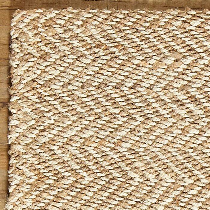 Sibley Hand-Woven Jute Area Rug Rug Size: Rectangle 3'3