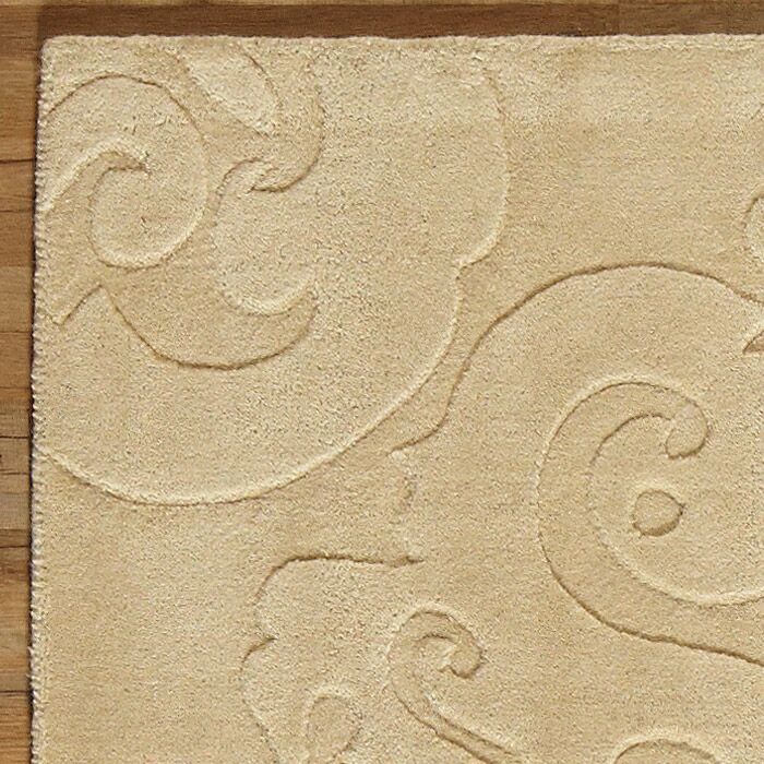 Ella Hand-Woven Natural Area Rug Rug Size: Rectangle 9' x 13'