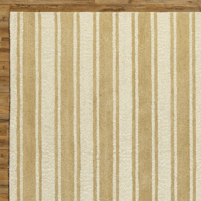 Tenley Natural & White Rug Rug Size: Rectangle 3' x 5'