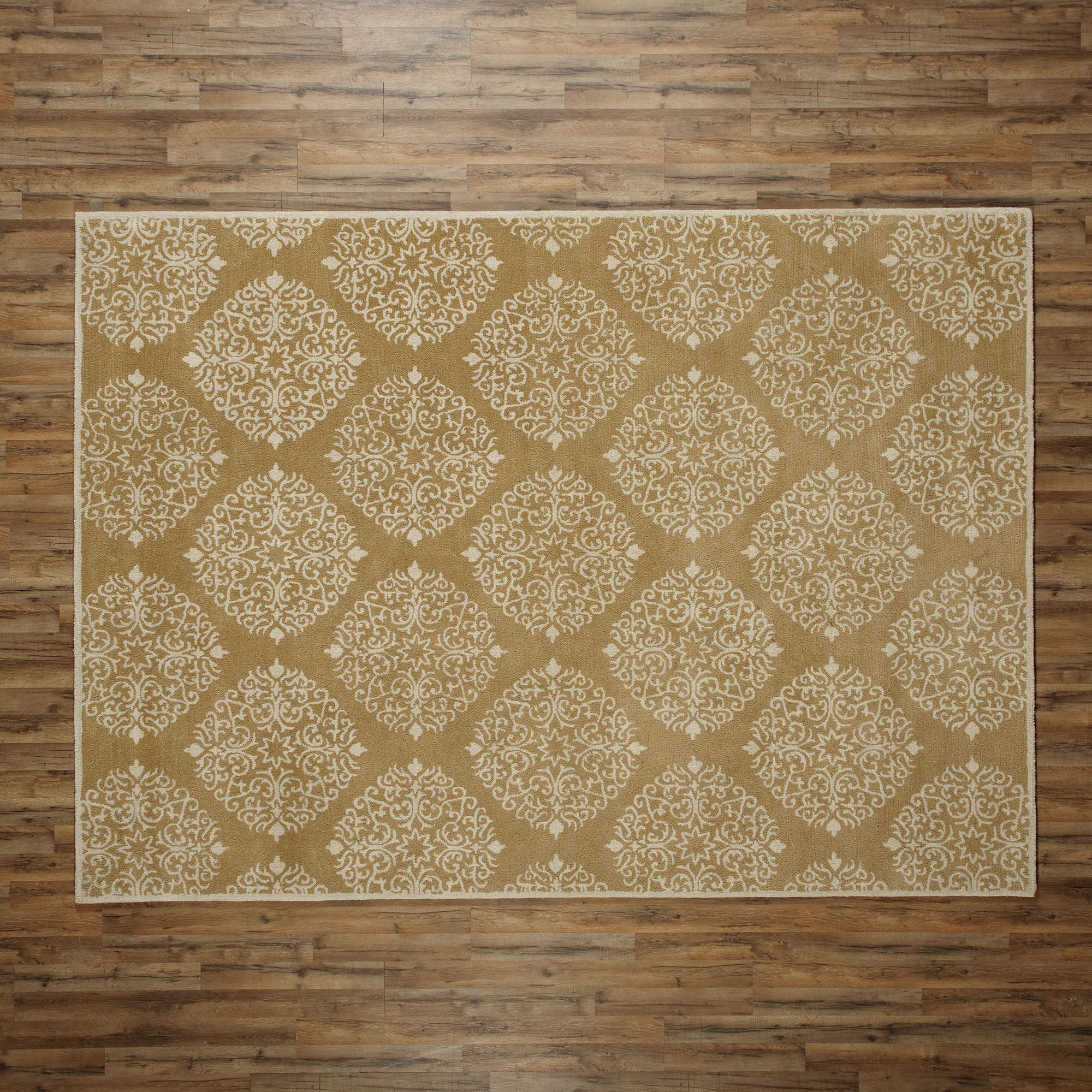 Reese Mustard Rug Rug Size: Rectangle 8' x 11'