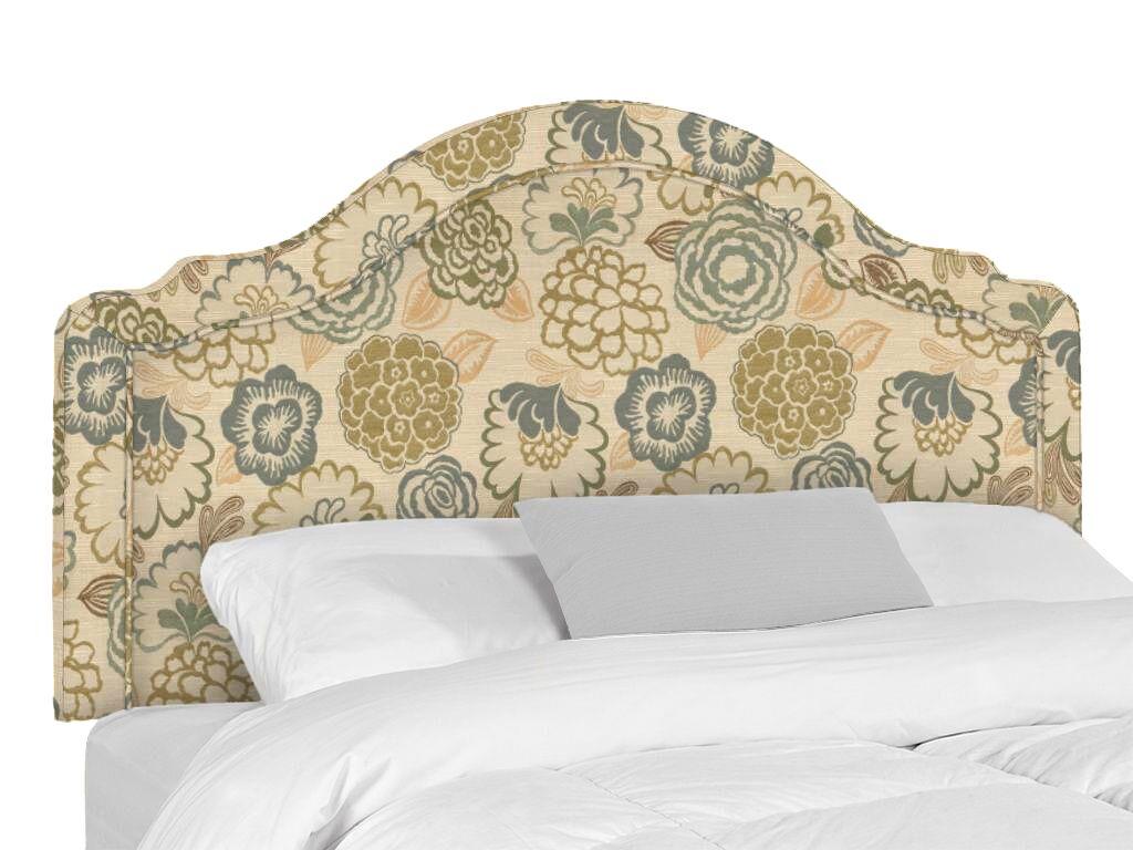 Rumford Upholstered Headboard Size: Queen, Upholstery: Ronan Linen