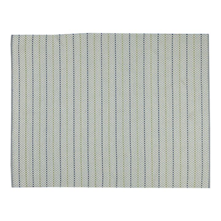 Hayes Rug Sky Hand-Woven Blue Indoor/Outdoor Area Rug Rug Size: Rectangle 3'6