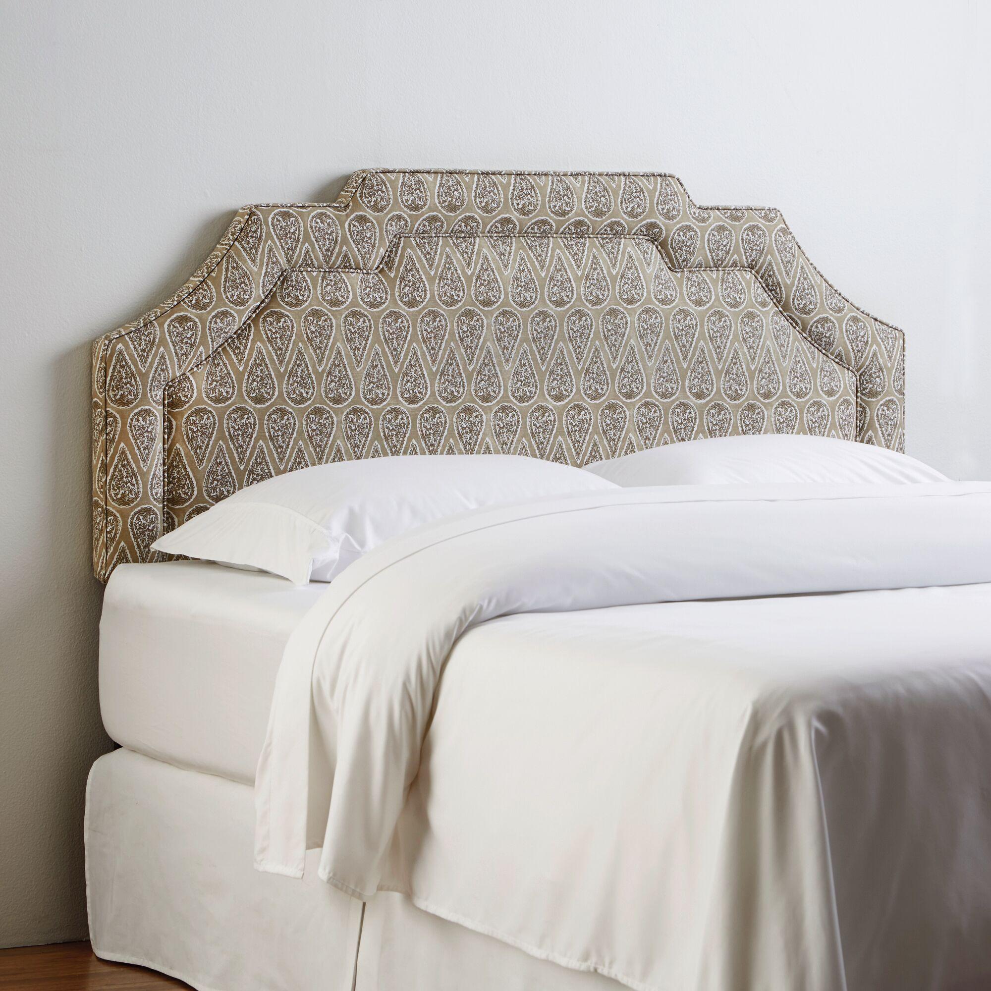 Keeling Upholstered Headboard Upholstery: Marlow Midnight, Size: Full