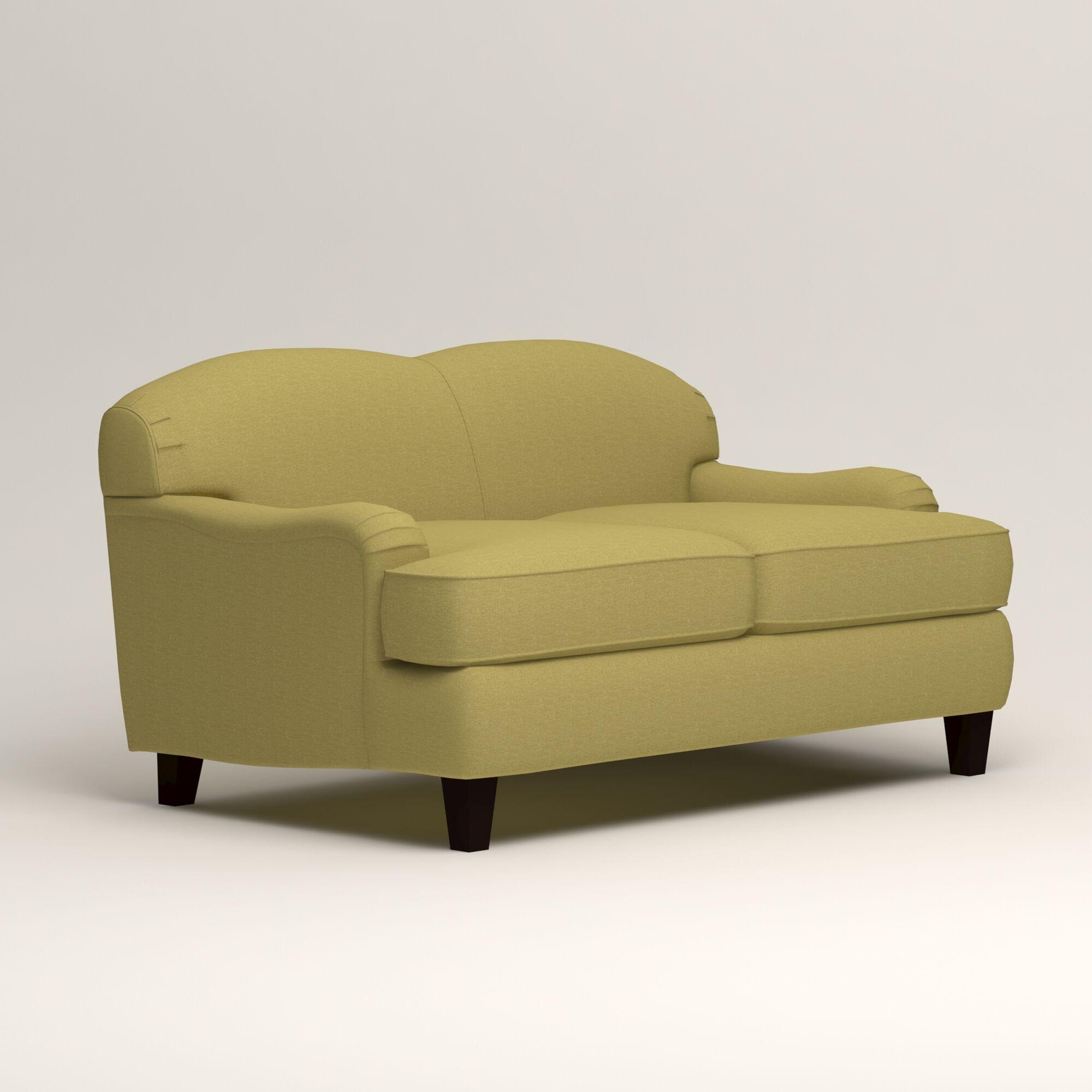 Cheshire Loveseat Upholstery: Lizzy Kiwi
