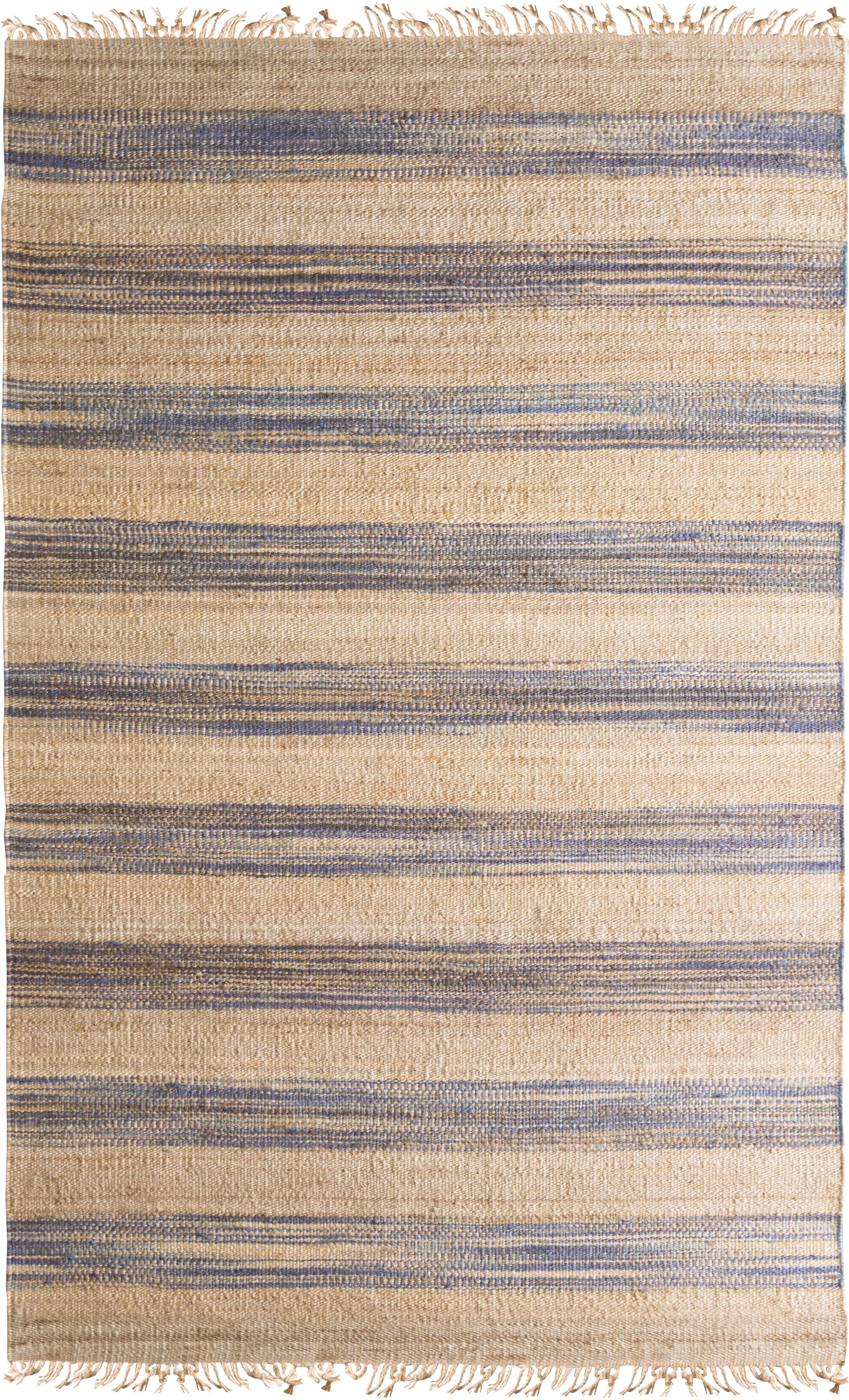 Victoria Hand-Woven Area Rug Rug Size: Rectangle 8' x 11'
