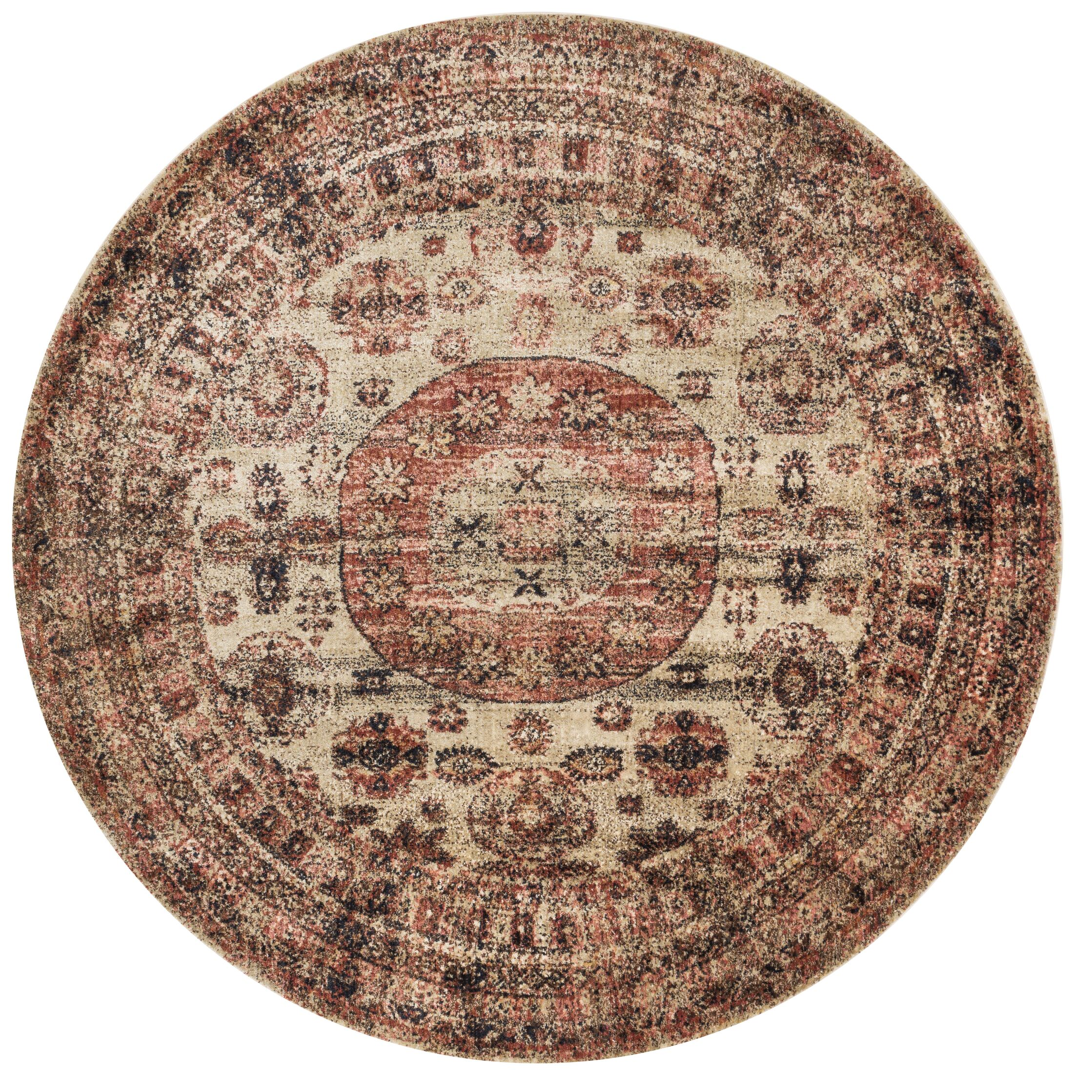 Lucien Champagne/Beige Area Rug Rug Size: Rectangle 5'3