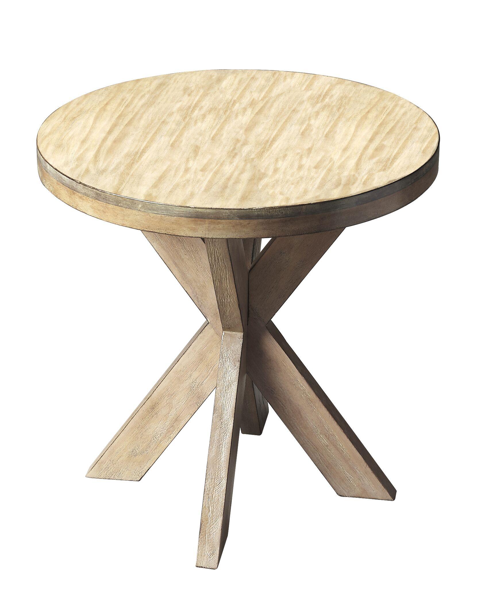 Rayne End Table Color: Driftwood