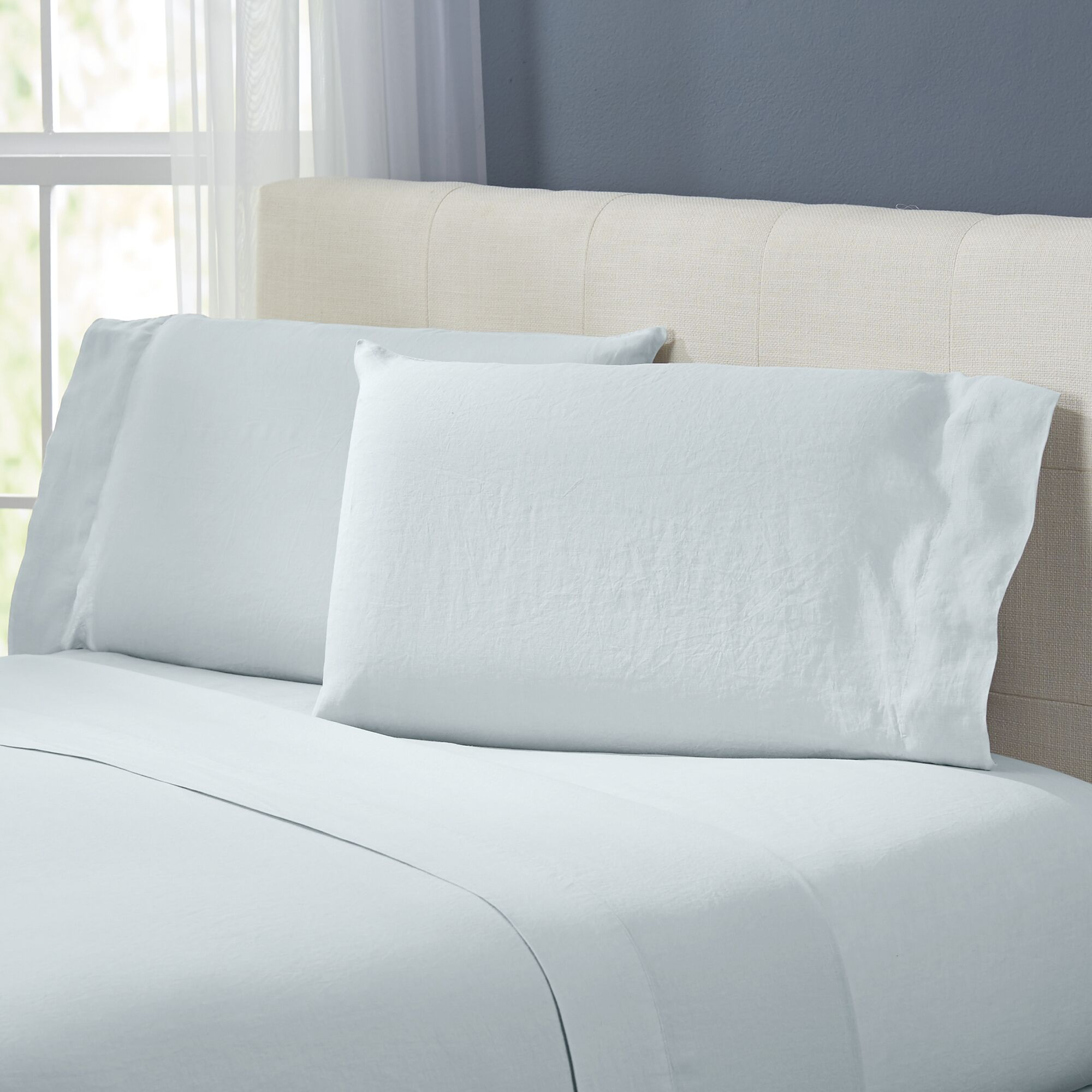 Bernadette Sheet Set Color: Seafoam, Size: King