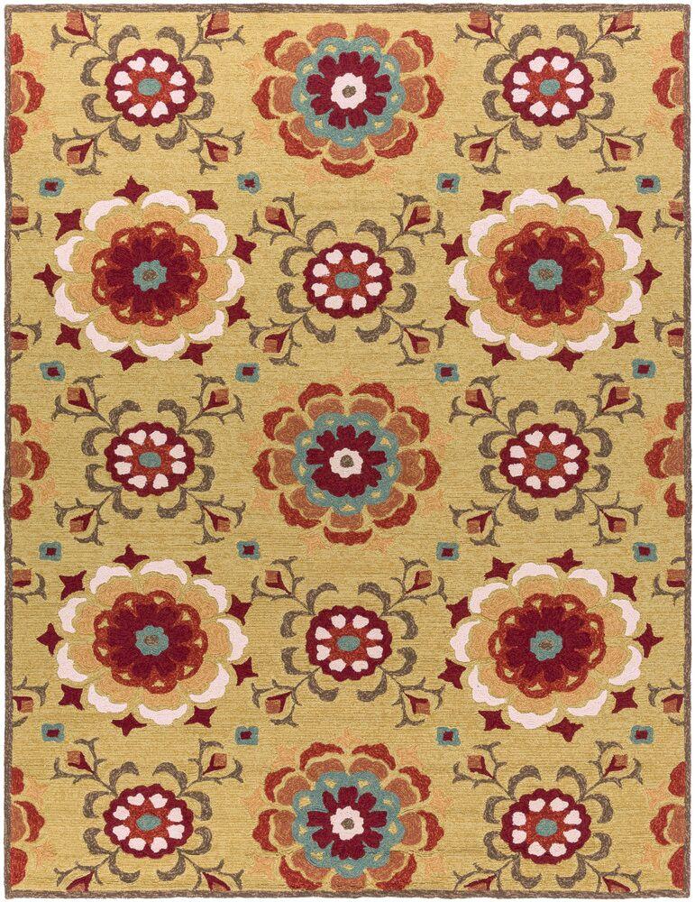 Natalia Terra Hand-Woven Indoor/Outdoor Area Rug Rug Size: Rectangle 8' x 10'6