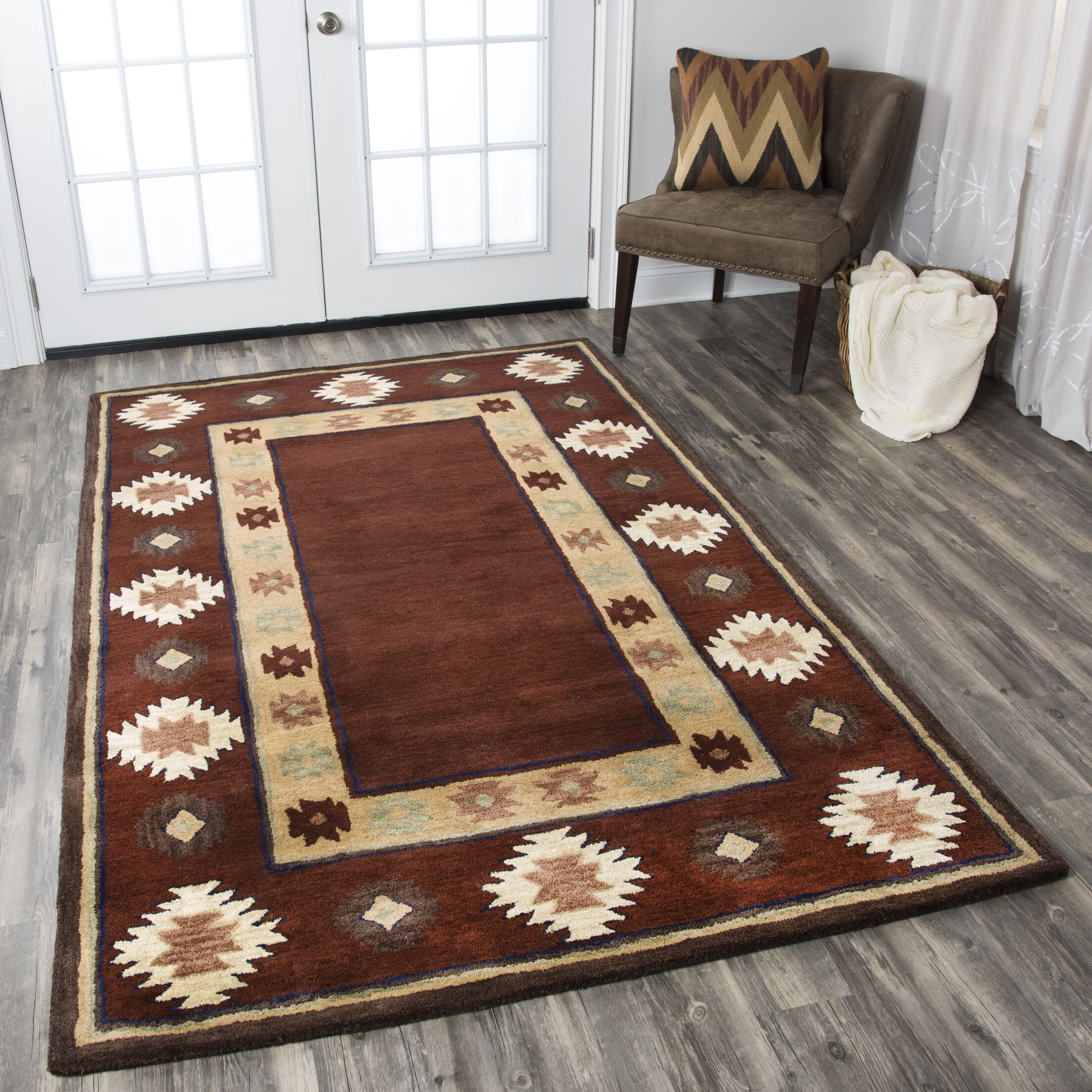 Yvette Rug Rug Size: Rectangle 9' x 12'