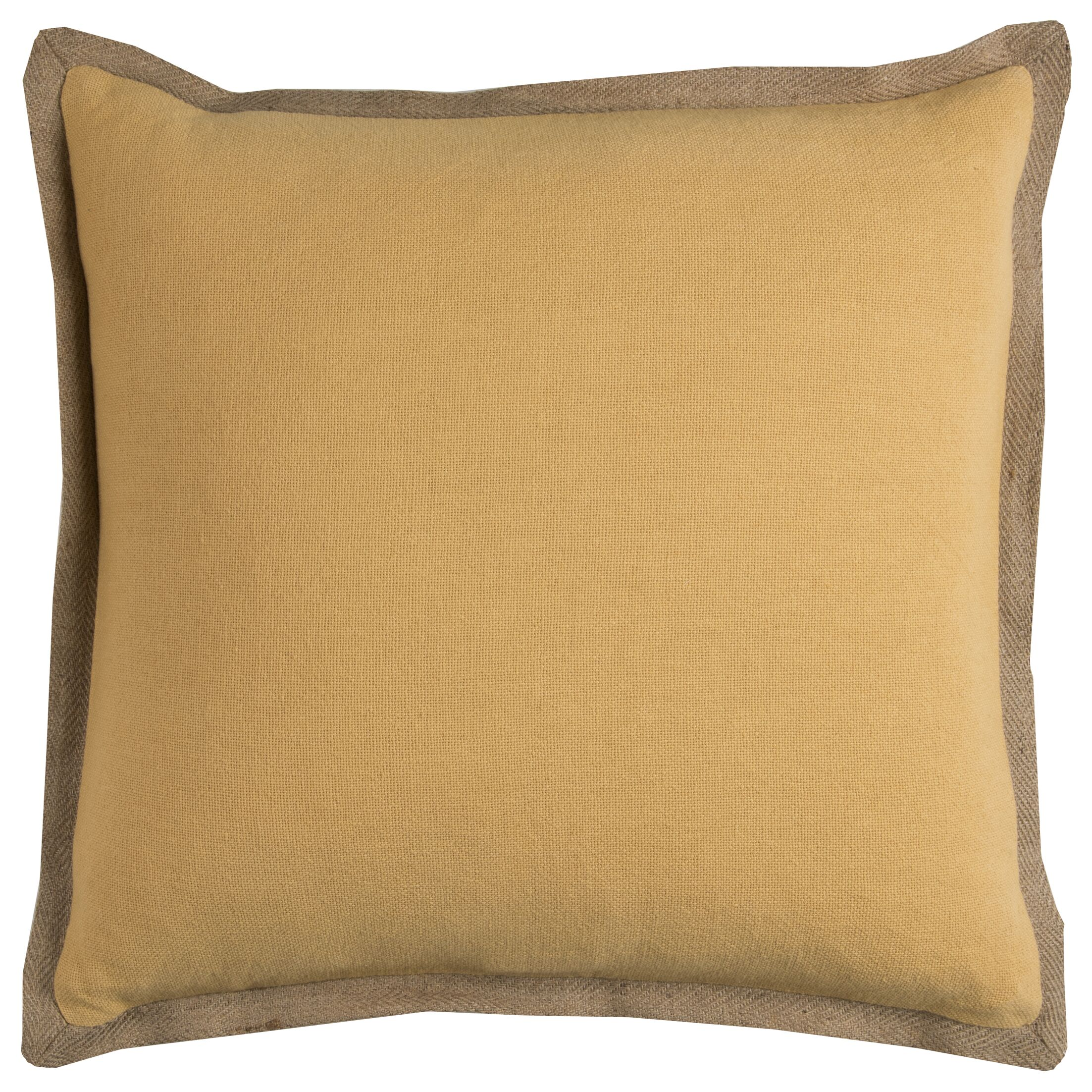 Shayna Pillow Cover (Set of 2) Color: Honey