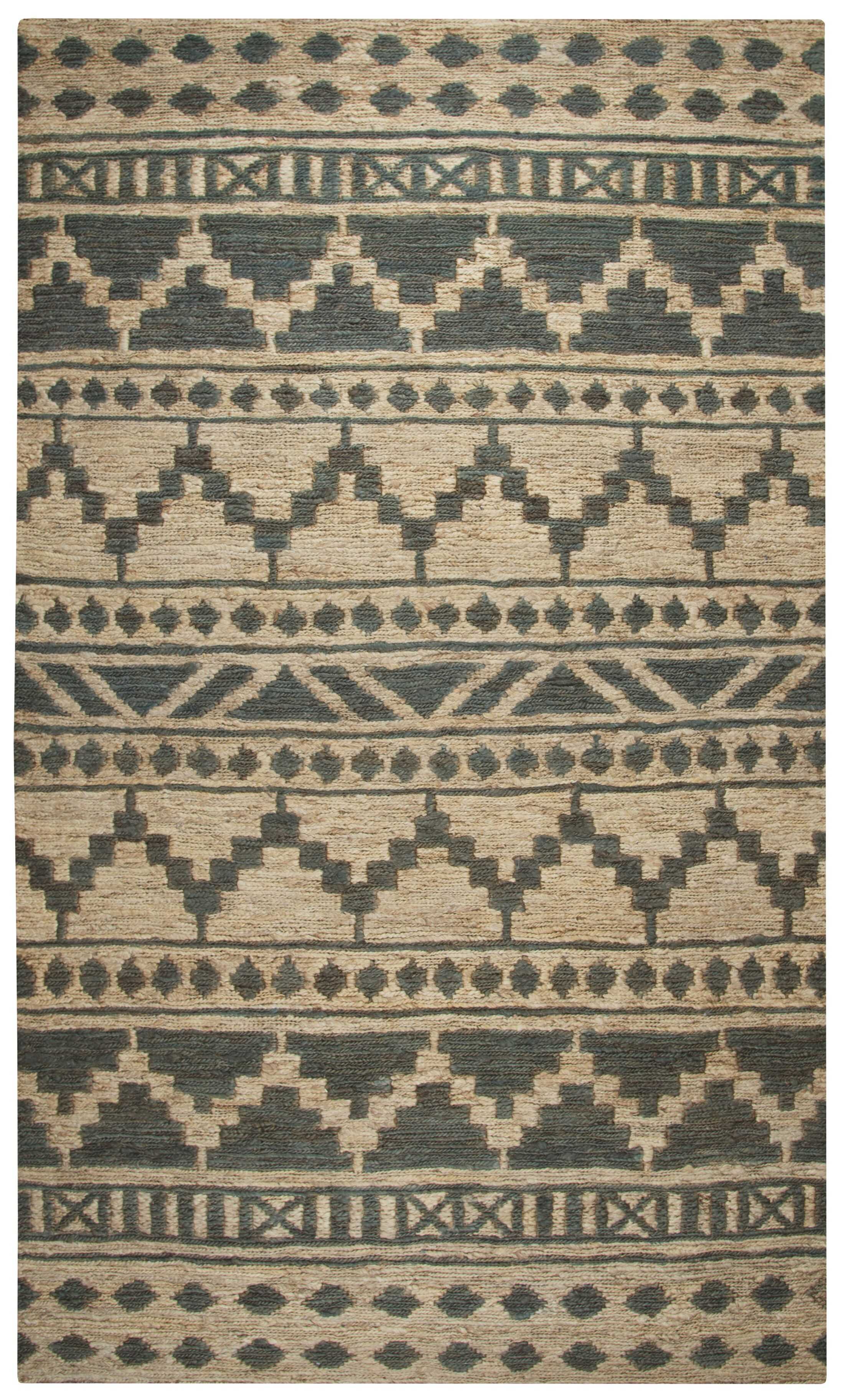 Rayna Hand-Woven Area Rug Rug Size: Rectangle 9' x 12'