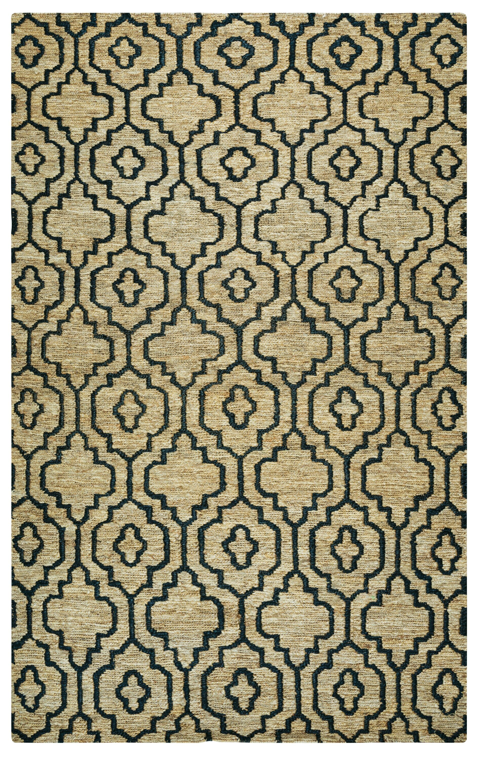 Federica Hand-Woven Natural Area Rug Size: Rectangle 9' x 12'