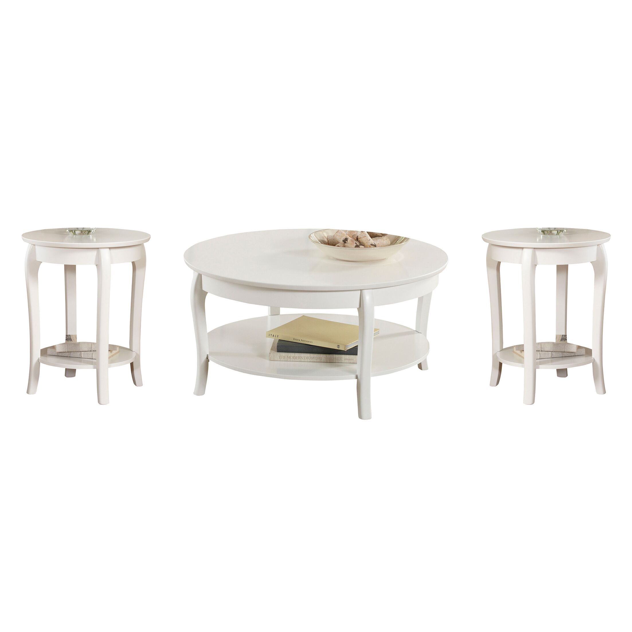Alberts 3 Piece Coffee Table Set