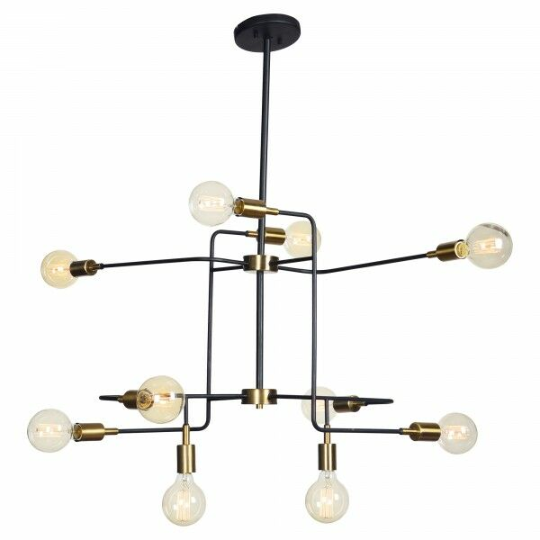 Europa 10-Light Sputnik Chandelier
