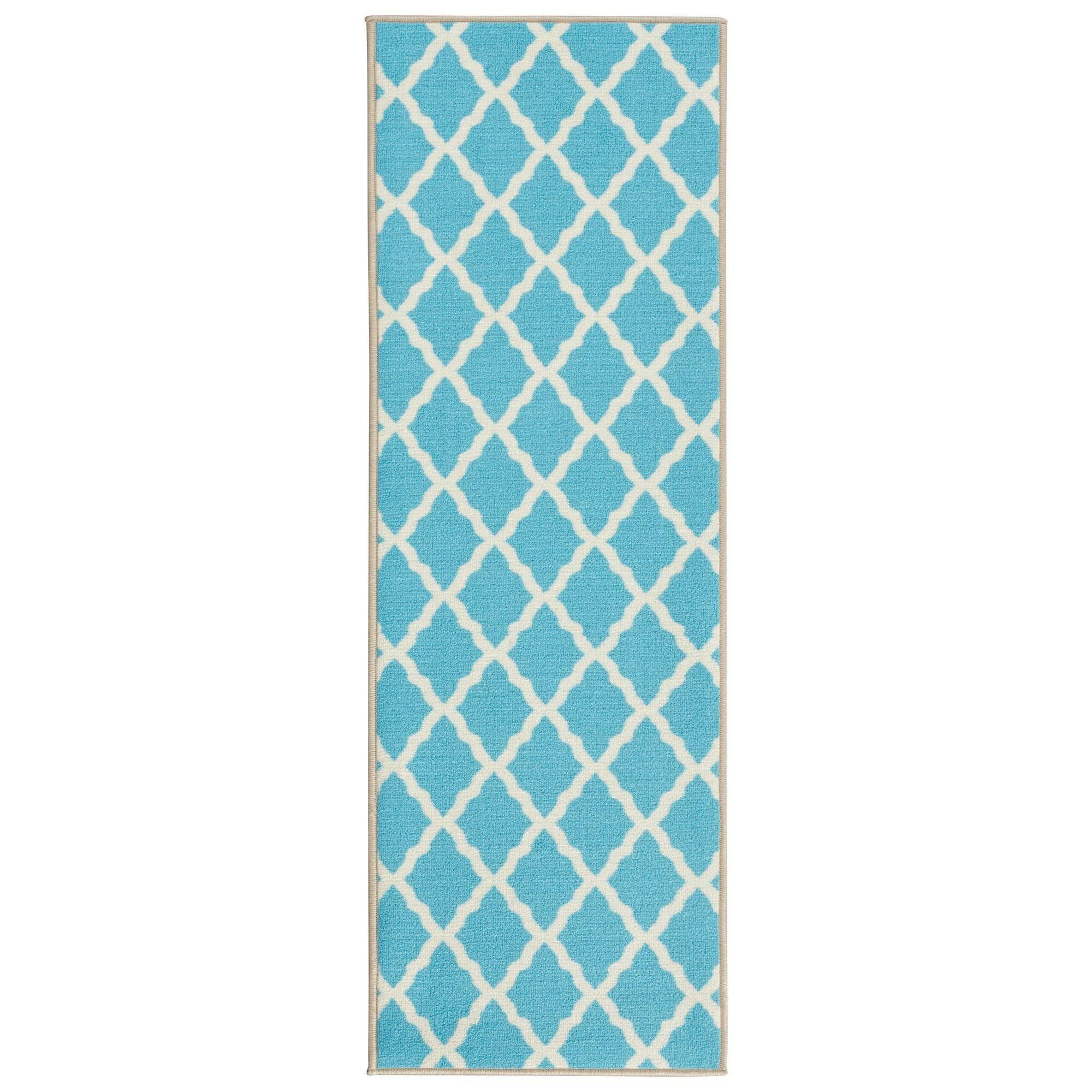 Staunton Blue Area Rug Rug Size: Rectangle 3'3