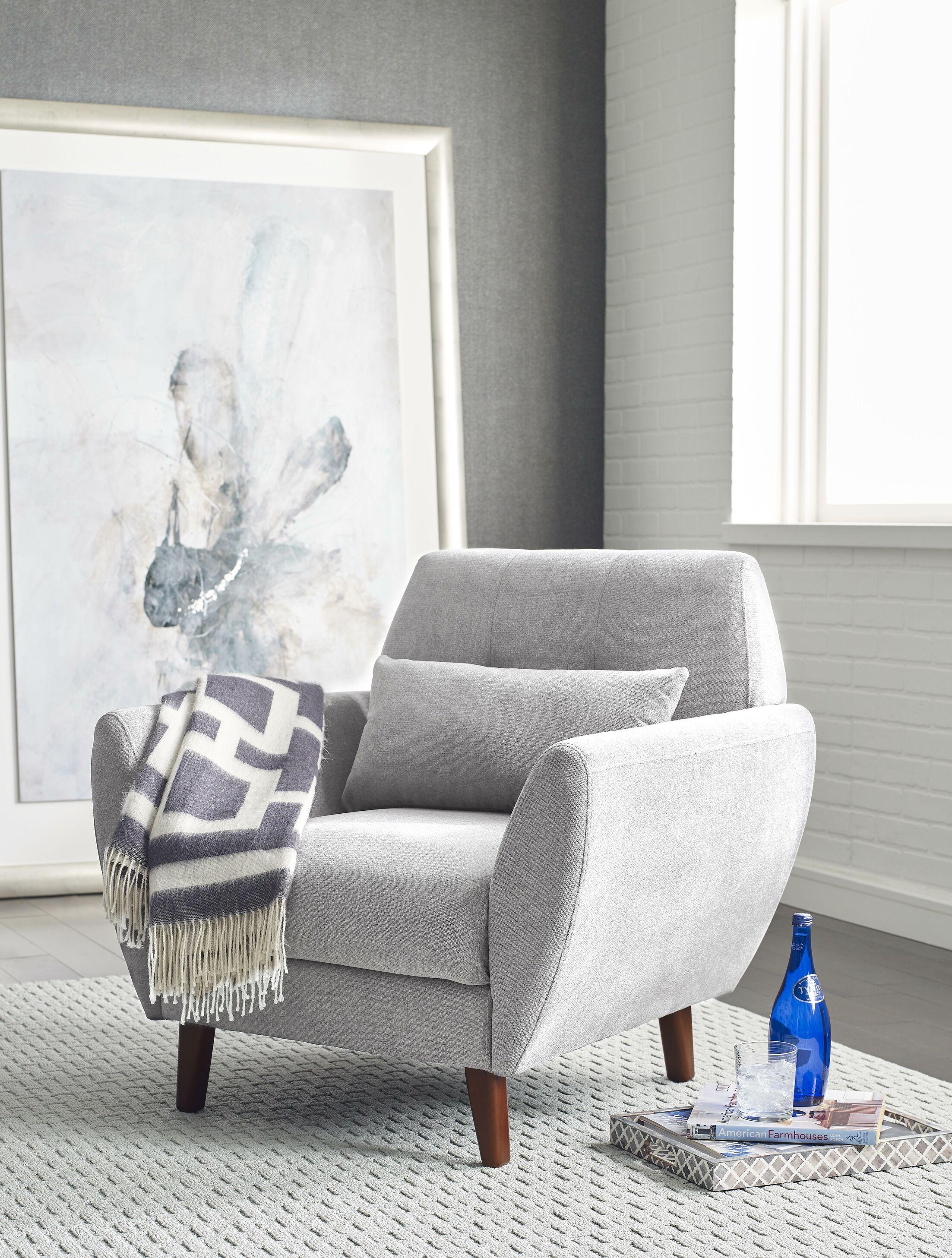 Artesia Armchair Upholstery: Smoke Gray
